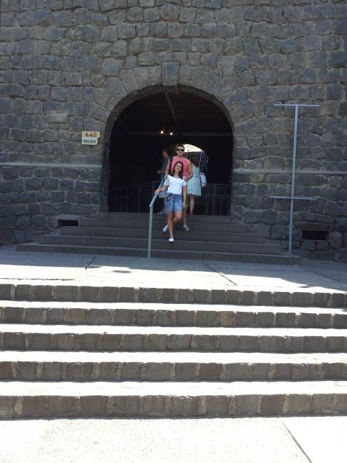 Entrada da Funicular.